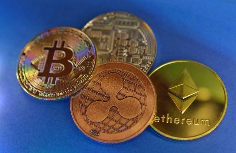 Différentes cryptomonnaies