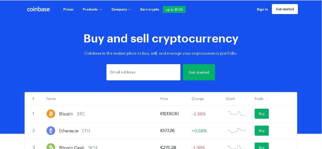 Coinbase est une plateforme très appréciée par les débutants