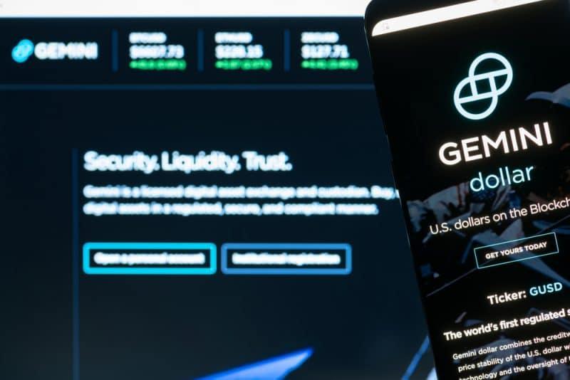L'exchange Gemini a détruit 20% de son offre totale de GUSD