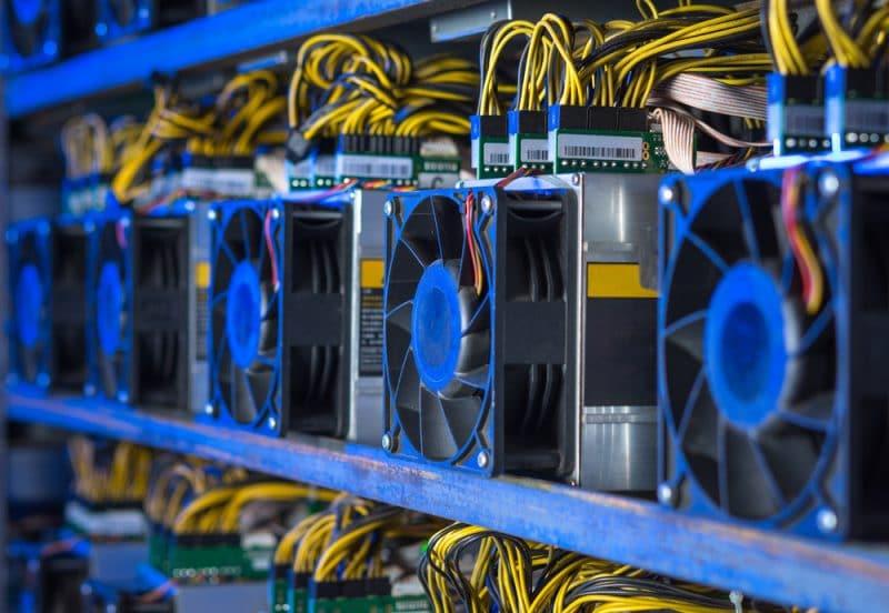 7000 machine de minage de Bitcoin (BTC) confisqués en Chine