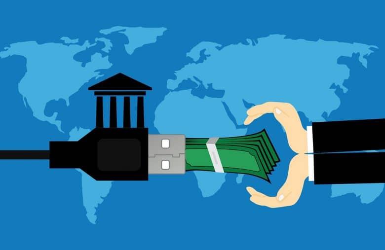 Le paiement par virement bancaire implique moins de frais