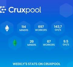 Cruxpool; pool de minage français, boucle un torur de financement de 475 000 euros