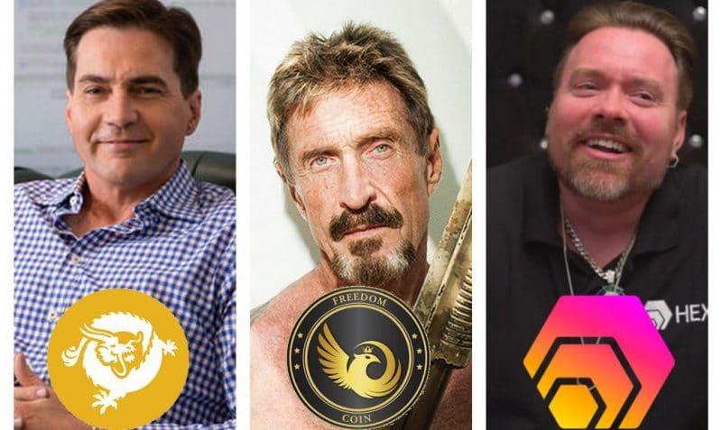 McAfee, Wright, Heart, les 3 cavaliers de l'apocalypse du Bitcoin