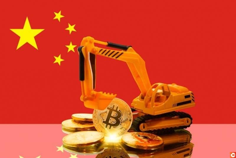 La Chine dominante minage Bitcoin (BTC)