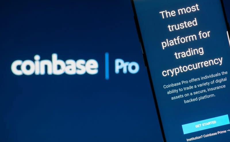 Androïd accueille l'app Coinbase Pro