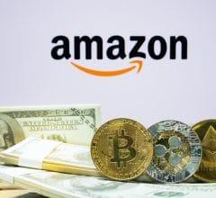 Où on compare les cours de Bitcoin et d'Amazon