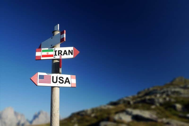 Tensions IRAN - USA, or, pétrole et Bitcoin impacté