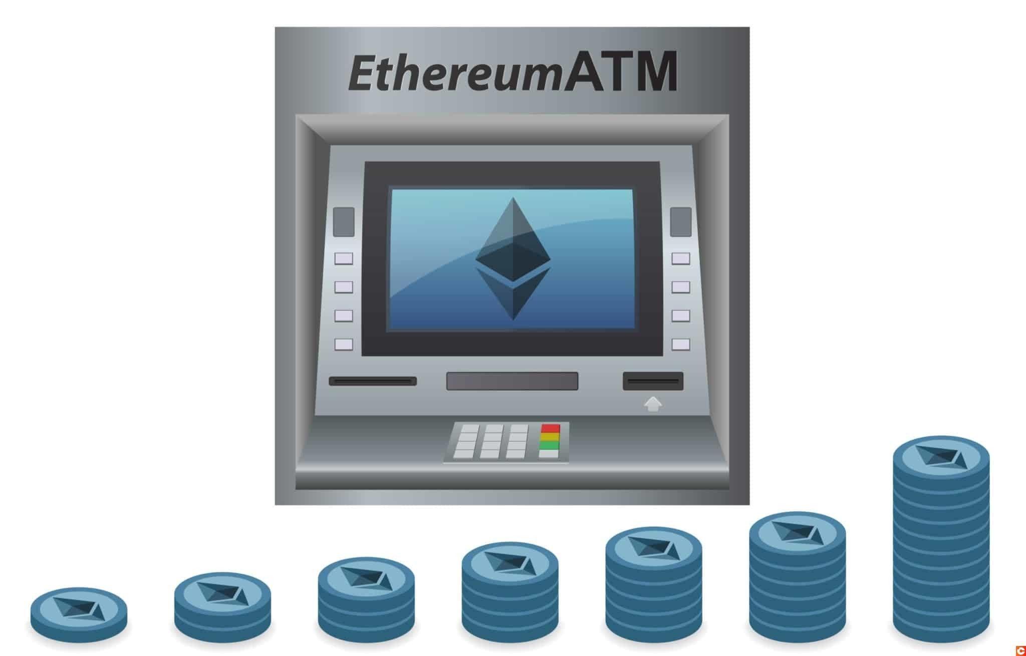 Il existe des distributeurs d'Ethereum un peu partout dans le monde