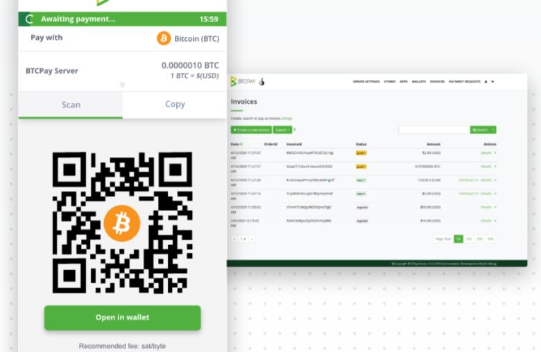 La solution BTCPay, pour des transaction Bitcoin anonymes