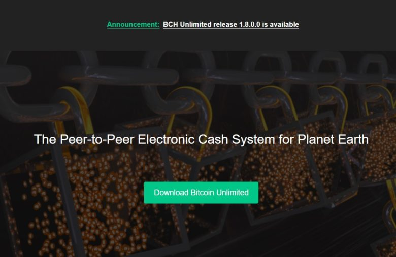 La plateforme de Bitcoin Unlimited