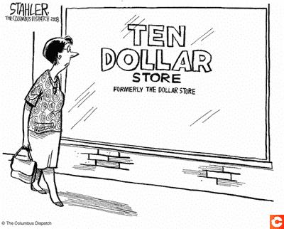 Le billet de dix dollars est le nouveau billet de un dollar