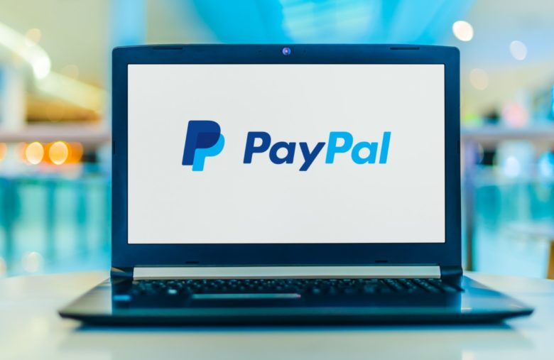 Purchase of a cryptocurrency by PayPal