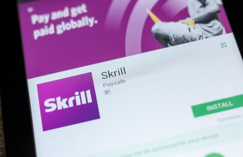 Skrill est une plateforme acceptée dans plusieurs plateformes