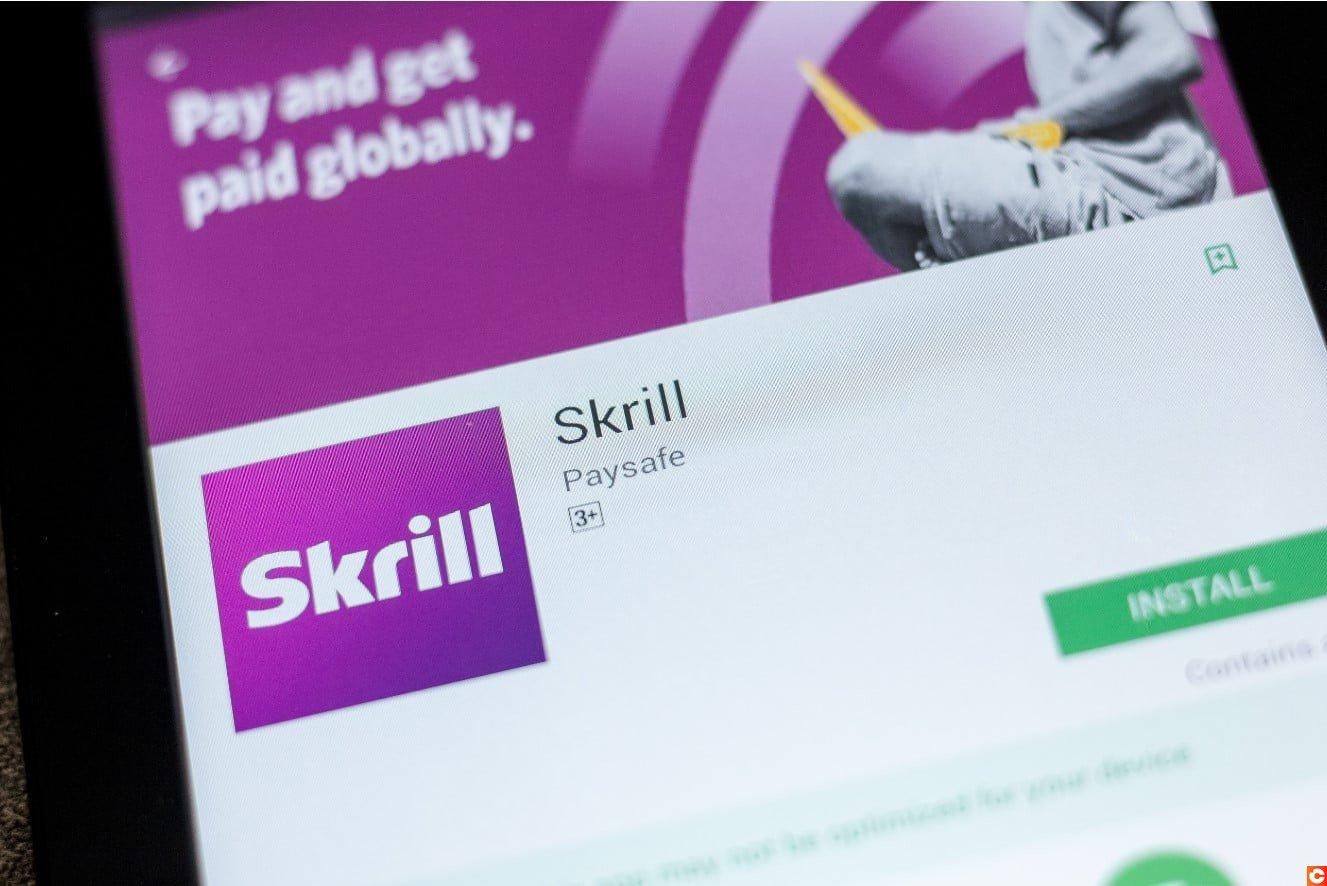 Skrill dispose aussi d'une application