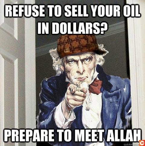 Le petrodollar, assurance tout risaue pour les Etats-Unis