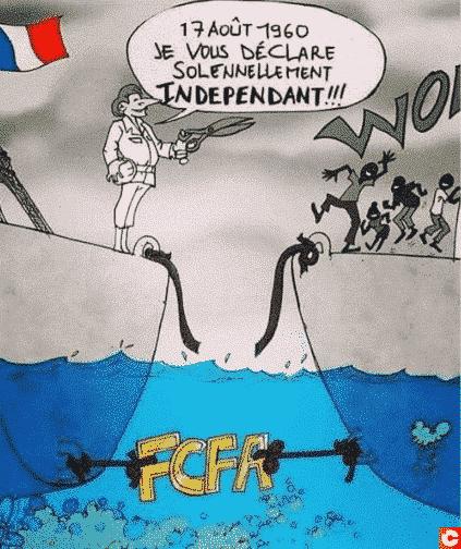 La france et le Franc CFA