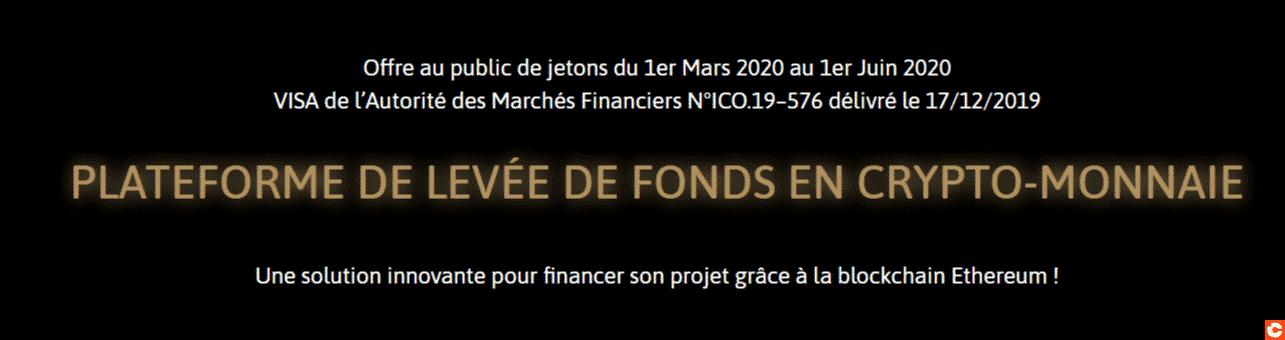 French ICO, la plateforme de levée de fonds en cryptomonnaies française