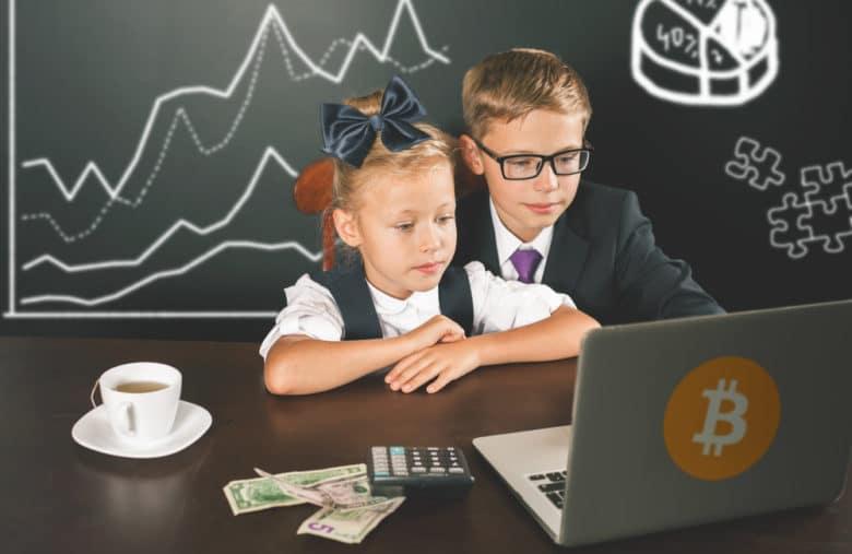 L'éducation à Bitcoin peux commencer très tôt
