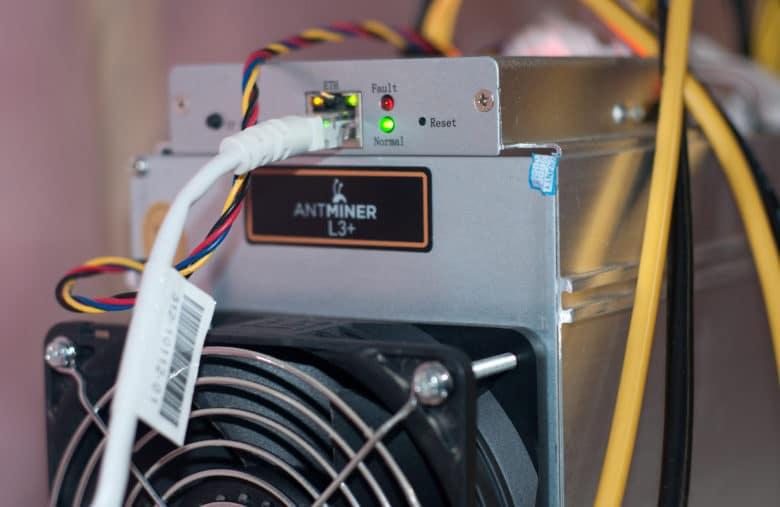 Les appareils Antminer sont très pratiques pour miner du Litecoin