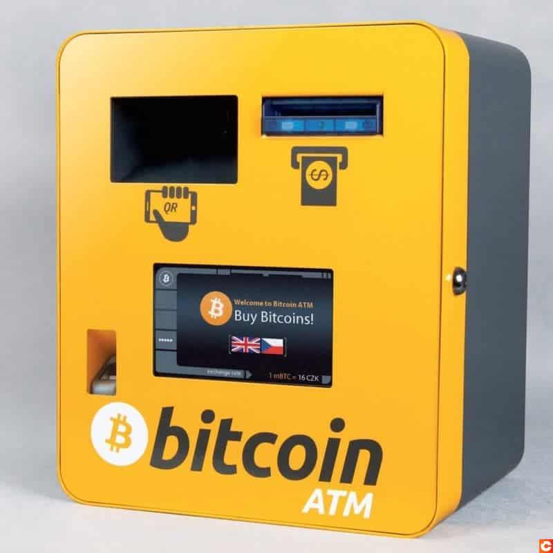 Il existe des distributeurs permettant d'acheter des Bitcoins en espèces