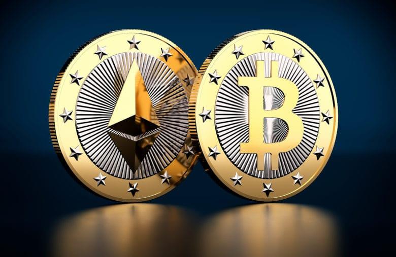 Les deux plus grandes cryptomonnaies au monde : Ethereum et Bitcoin