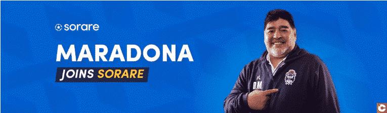 Maradona rejoint Sorare