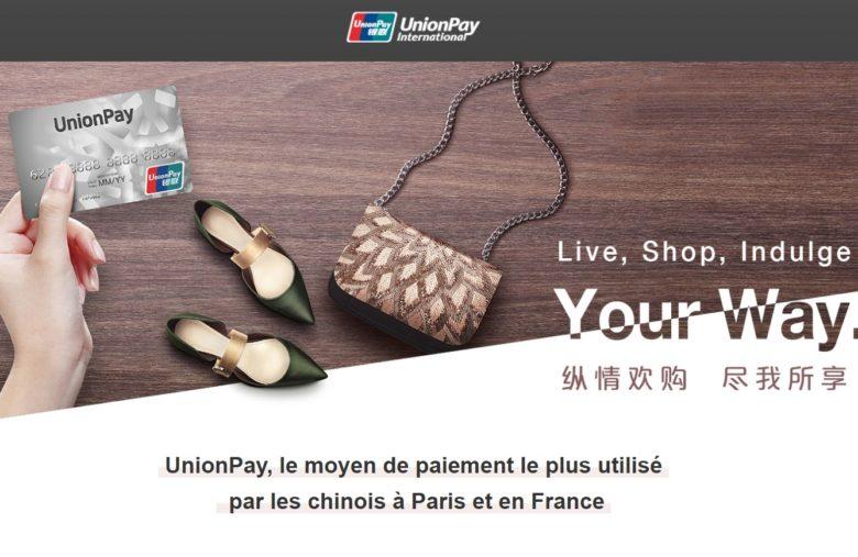 Le géant chinois UnionPay est également disponible sur eToro