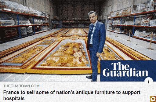 La France vend ses bijoux de famille