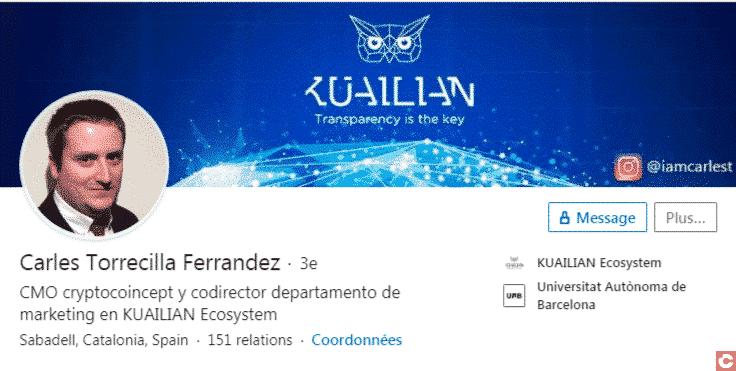 Linkedin de Carles Torrecilla Ferrandez