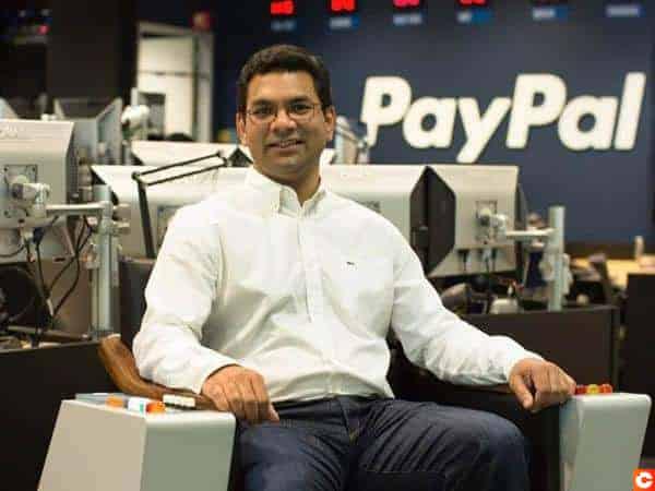 Sri Shivananda, Directeur de la Technologie chez Paypal garde un oeuil sur Bitcoin et la blockchain