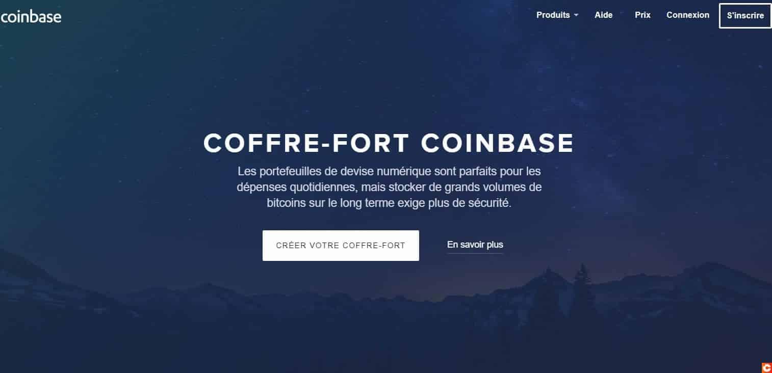 Le coffre-fort de Coinbase propose une plus grande sécurité et d'autres fonctionnalités
