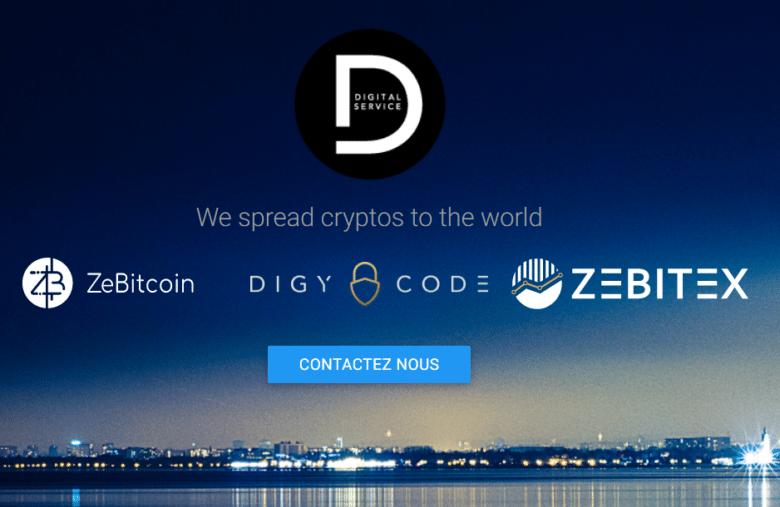 Derrière Zebitex, Digycode, Zebitex et Digywallet, on trouve la même entreprise : Digital Service