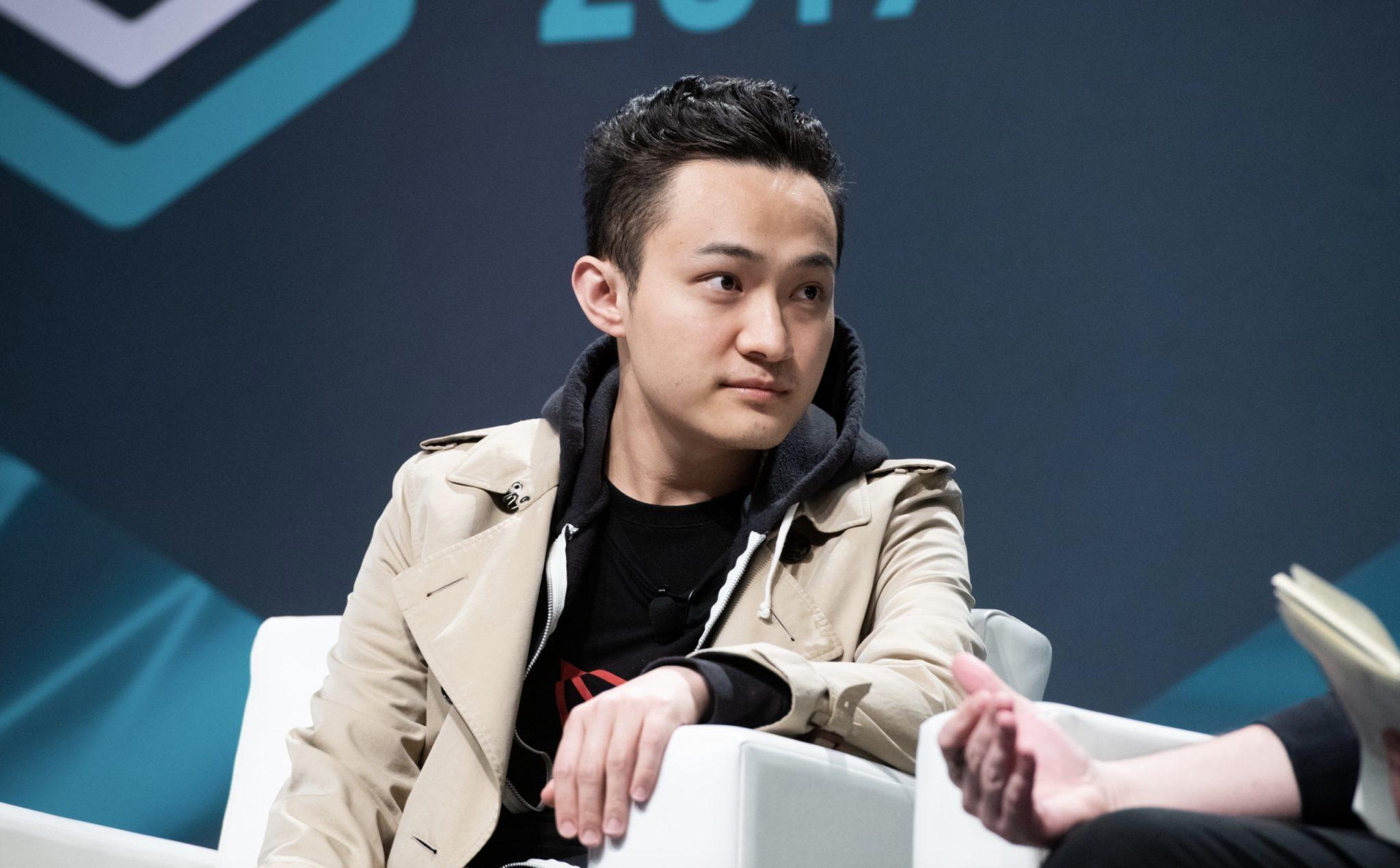 Justin SUN , fondateur de la cryptomonnaie Tron (TRX)