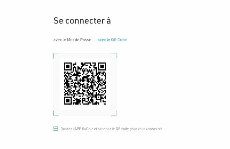 Scannez simplement le code pour vous connecter