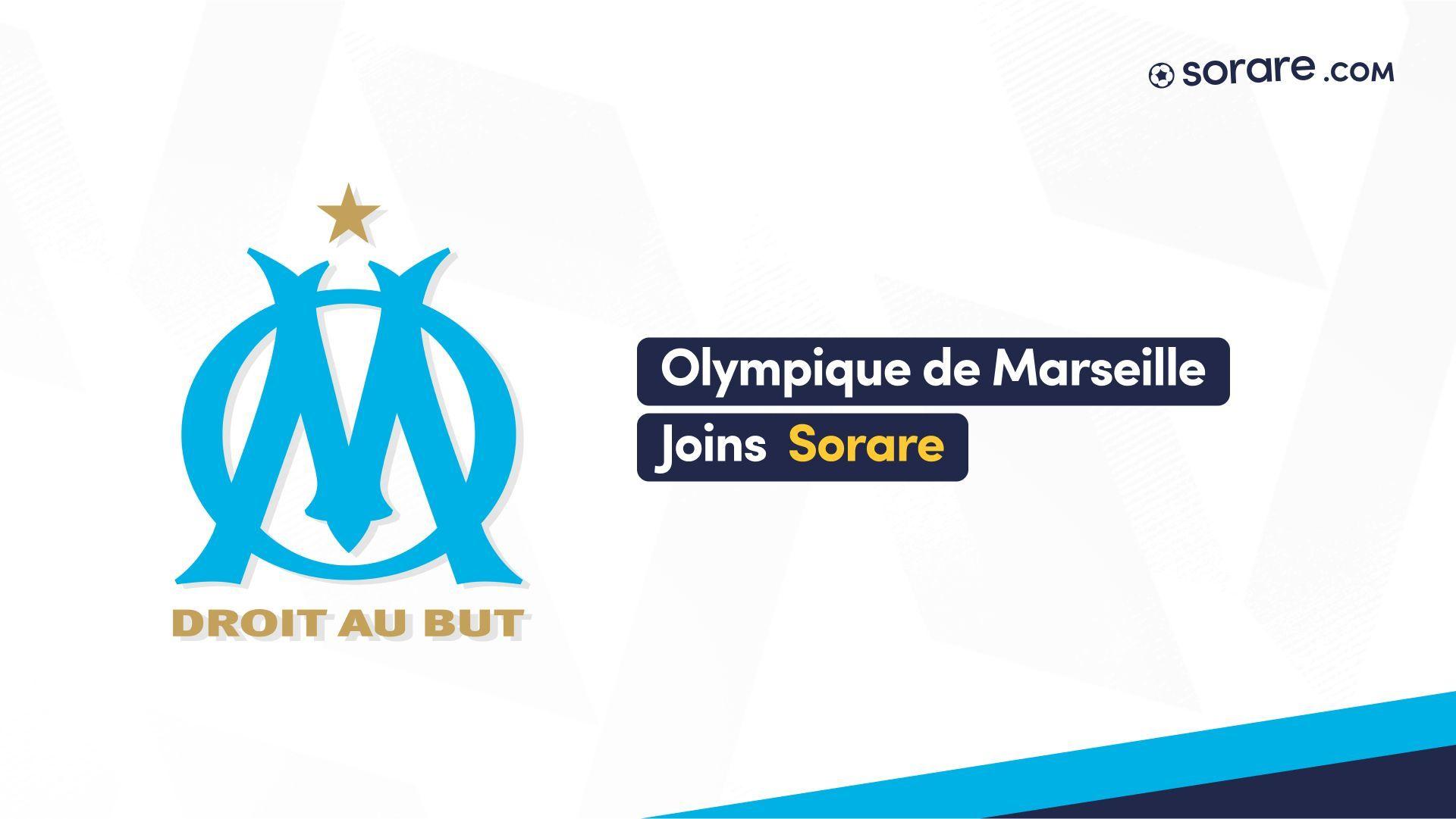 Sorare (tokens NFT) rentre en partenariat avec l'Olympique de Marseille (OM)