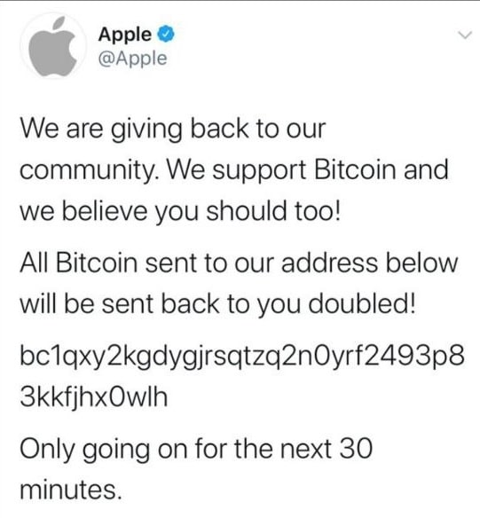 Apple se fait hacker