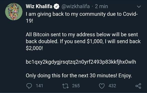 Wiz Khalifa apporte du soutien  à ses fans
