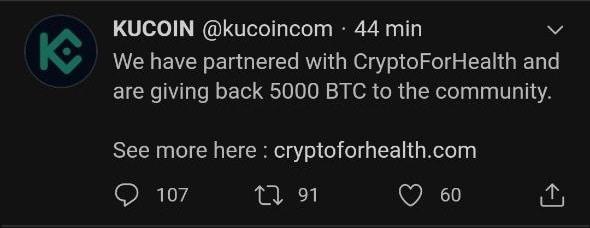 Les comptes twitter des exchanges cryptos se font hacks