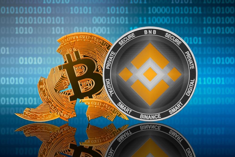 Bitcoin prochainement dépassé par une autre crypto comme BNB de Binance ?