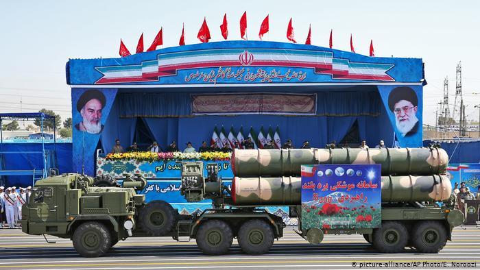 Parade militaire iran S-300