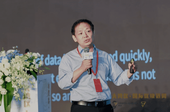 He Yifan, CEO BSN (Blockchain-based Service Network)