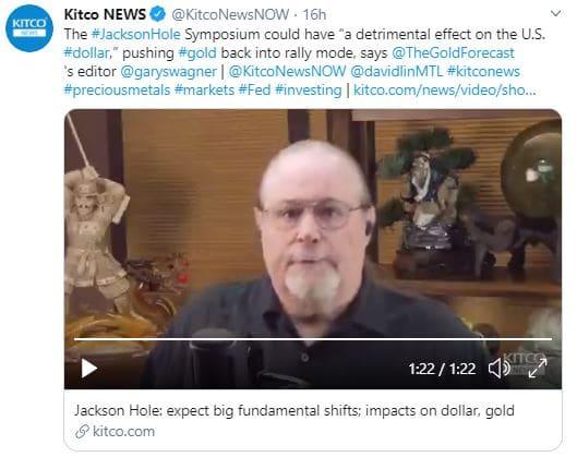jackson Hole un evenement en faveur de l'or
