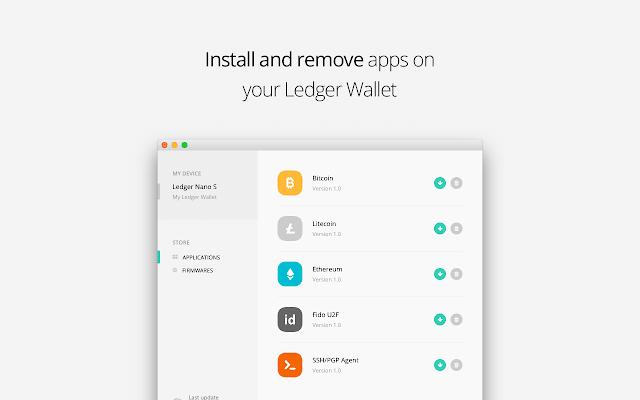 Applications ledger