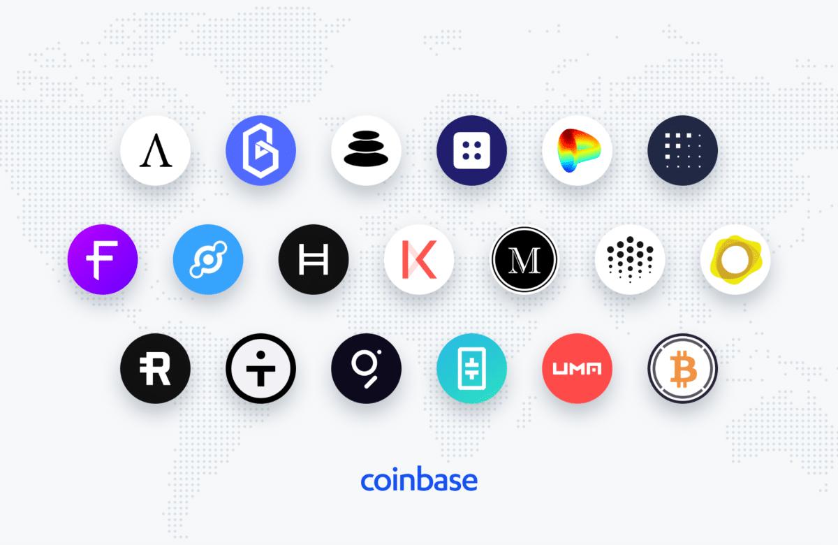 Cryptomonnaies qui pourraient être ajoutées à la plateforme Coinbase