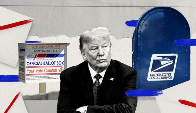 mail-in voting trump