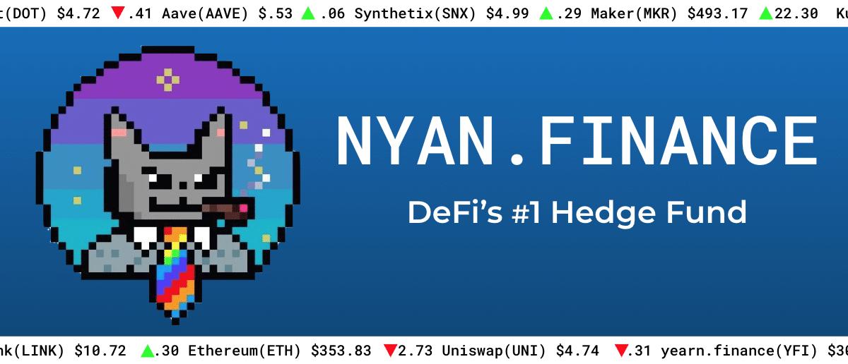 Image de NYAN Finance provenant du site
