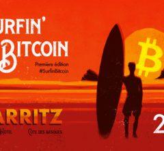 Affiche de Surfin'Bitcoin