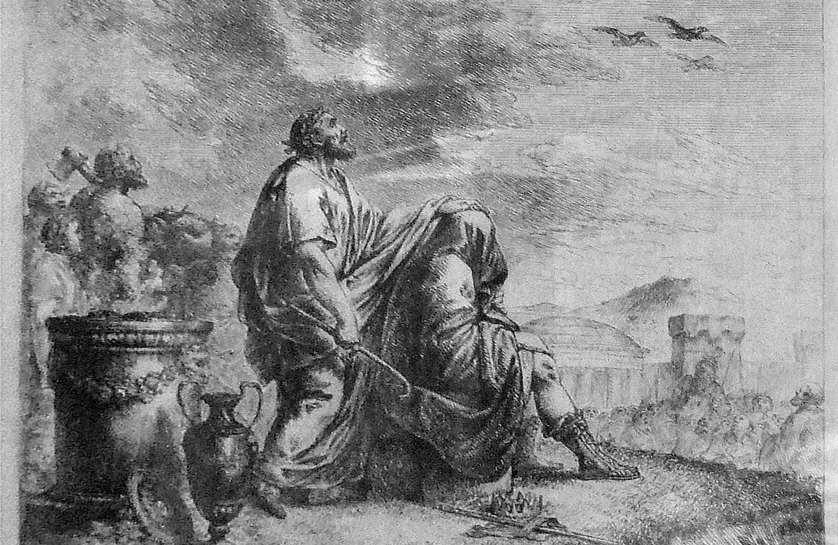 Augur et l'antiquité