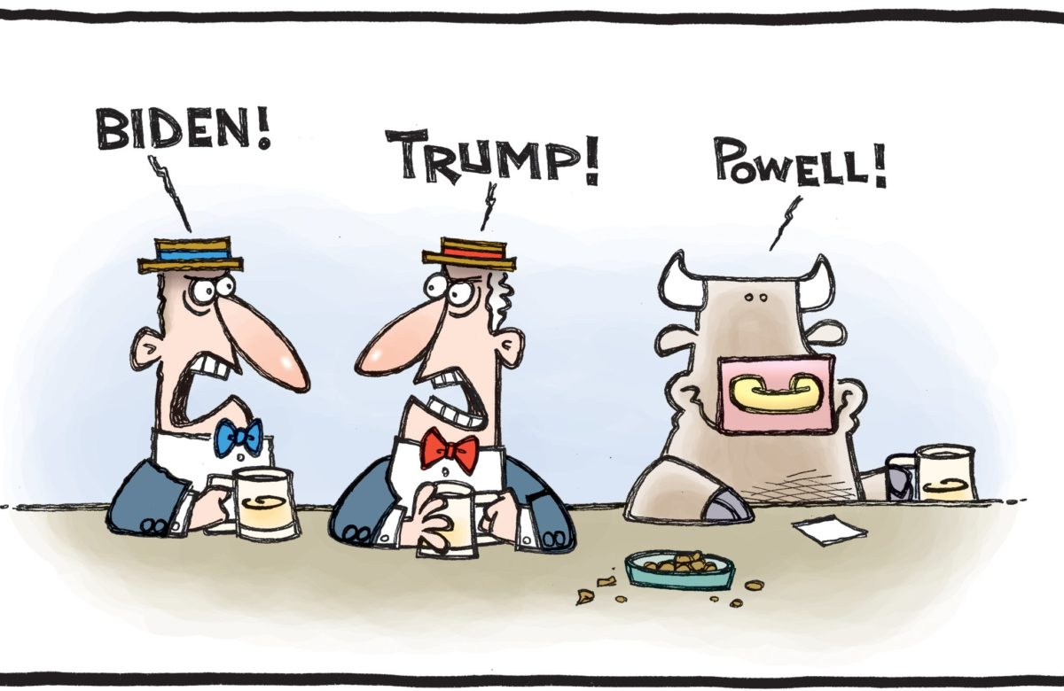 Biden trump powell