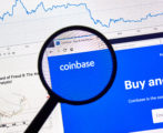 Coinbase cryptocurrency exchange site